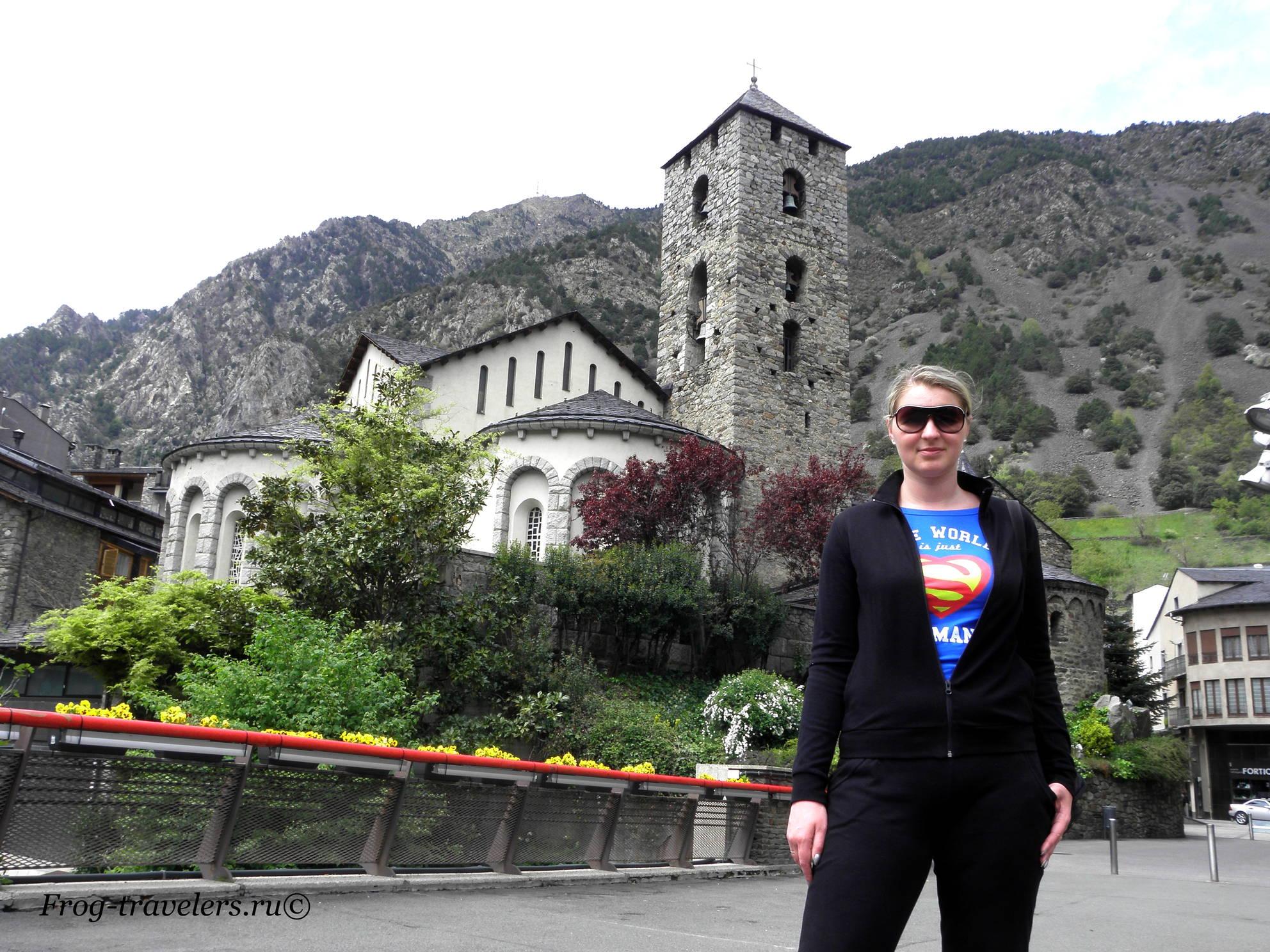 Андорра. Андорра-ла-Велья. Достопримечательности. Церковь Святого Стивена
