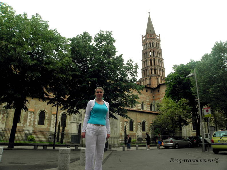 Достопримечательности Тулузы: Церковь Сен-Сернен