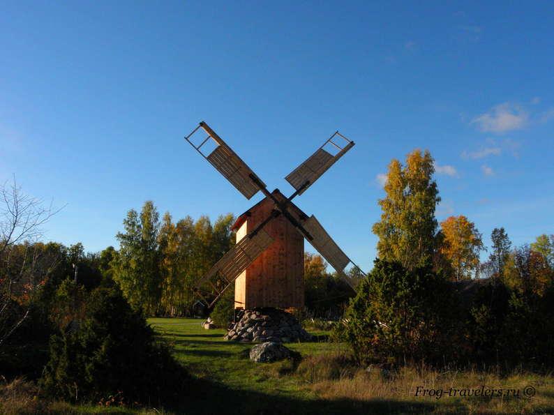 Мельницы в Эстонии. Мельницы острова Хийумаа. Мельница Паладе