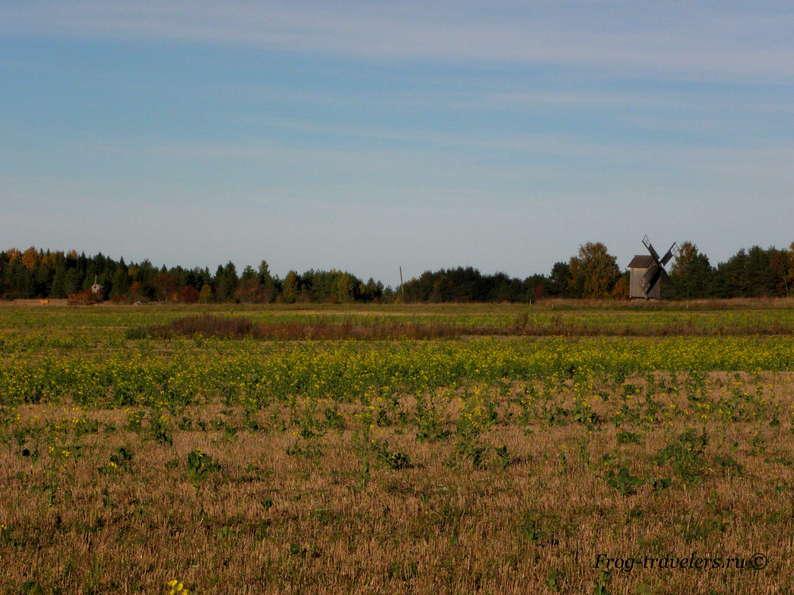 Мельницы в Эстонии. Мельницы острова Хийумаа. Мельница Кукка