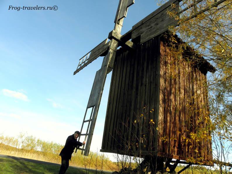 Мельницы в Эстонии. Мельницы острова Хийумаа. Мельница Каагусте