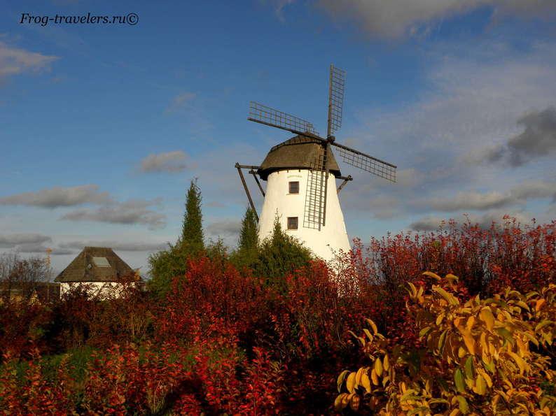 Мельницы в Эстонии. Мельница Кукрузе