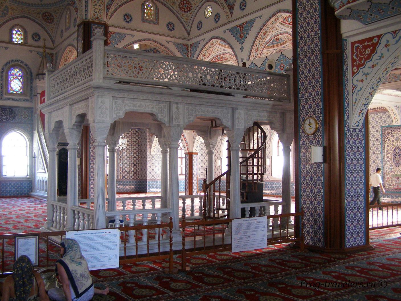Турция. Достопримечательности. За стенами отеля. Город Манавгат. Мечеть