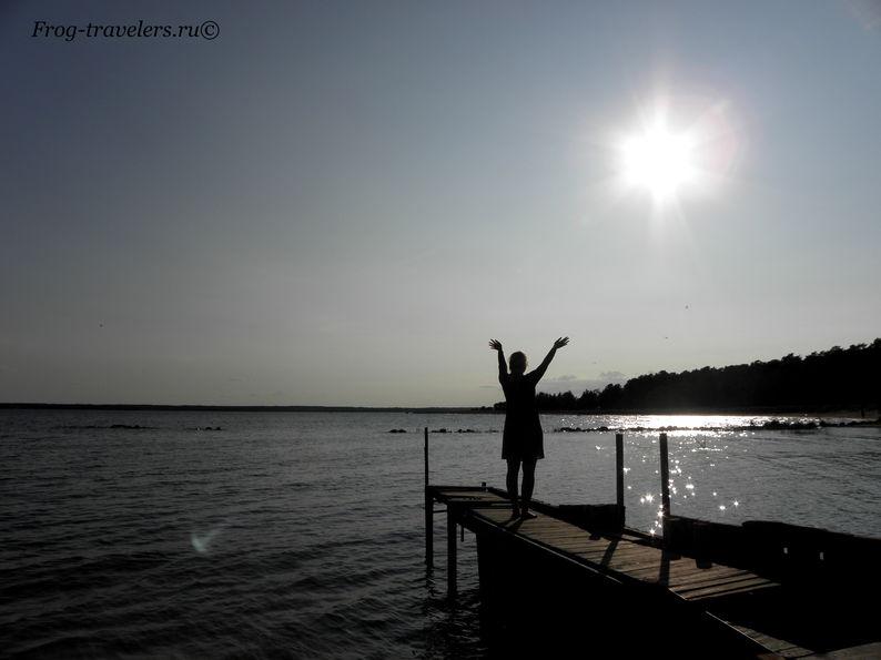 Как добраться на частном катере на остров Коневец