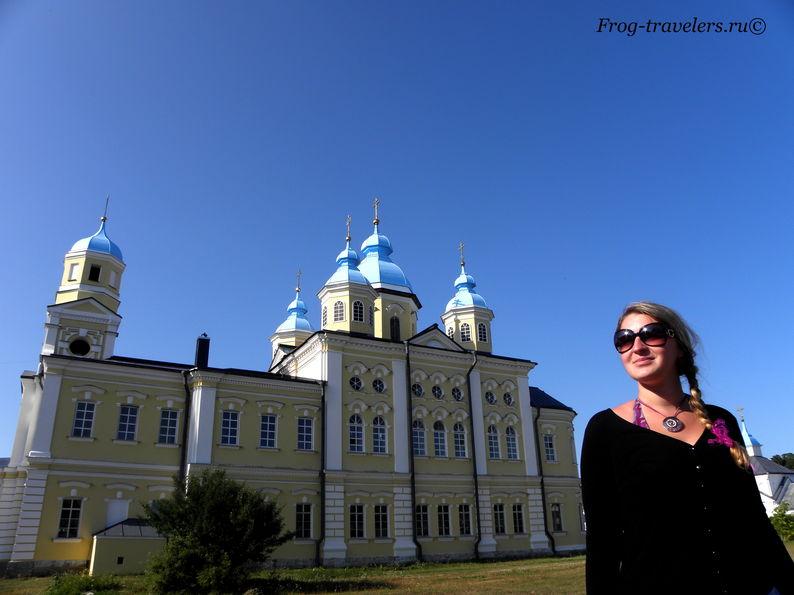 Марина Саморосенко в Коневецком монастыре