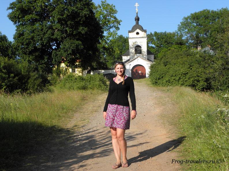 Казанский скит на острове Коневец