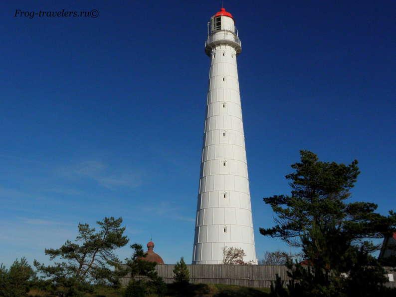 Маяки Эстонии на острове Хийумаа: маяк Такхуна фото