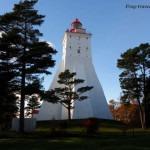 Остров Хийумаа, маяки Эстонии: маяк Кыпу на фото