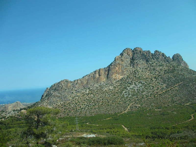 ТРСК. Северный Кипр. Достопримечательности. Замок Буффавенто. Как добраться. Фото