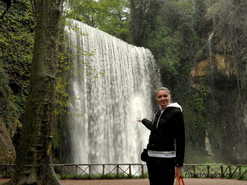 Марина Саморосенко и водопады Испании