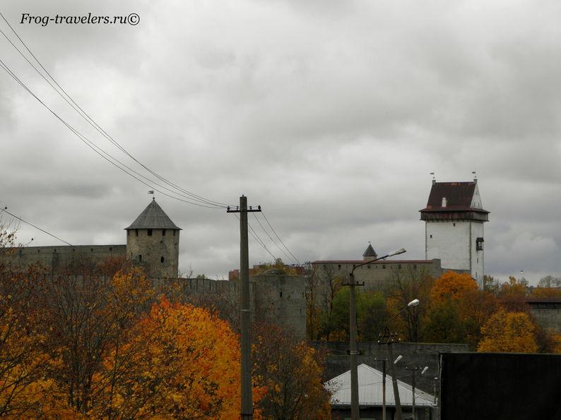 Нарвская и Ивангородская крепости