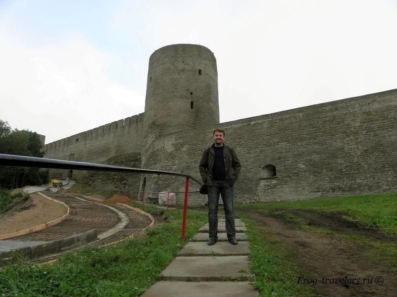 Крепость Ивангород Ленинградская область