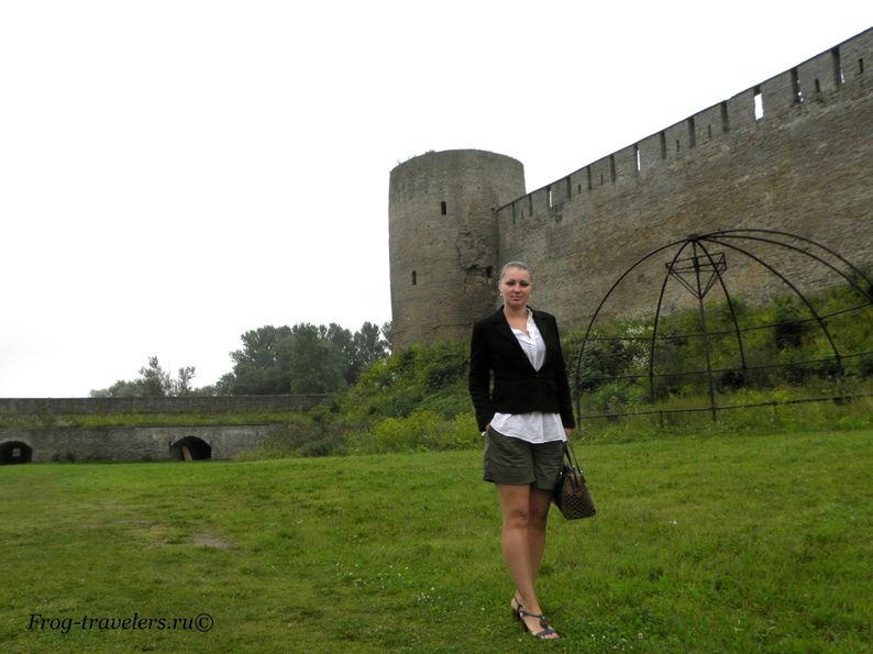 Боярский Вал Ивангородской крепости