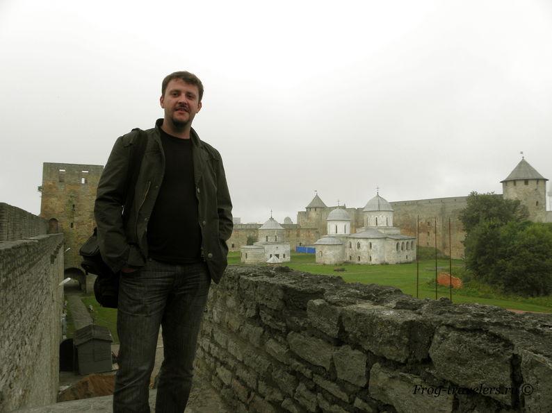 Большой Боярший город крепости Ивангород