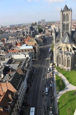 Бельгия,-город-Гент