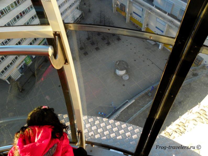 Швеция. Стокгольм. Арена Эриксон Глоб. Аттракцион «Скай Вью»
