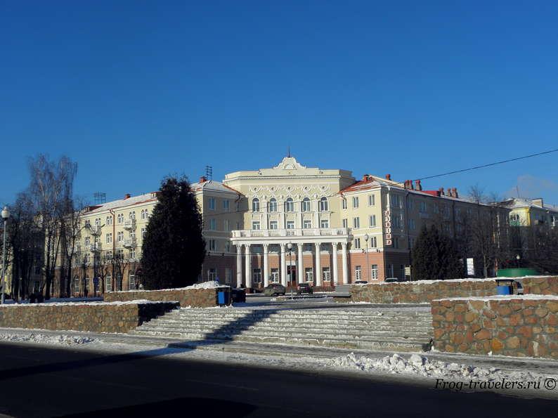 Достопримечательности Полоцка на карте. Гостиничный комплекс Славянский