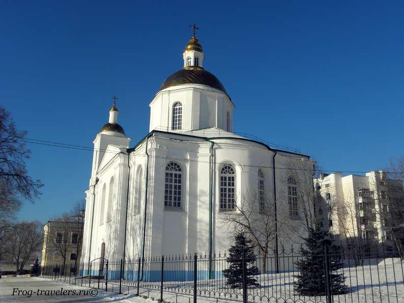 Достопримечательности Полоцка на карте. Кафедральный Богоявленский собор
