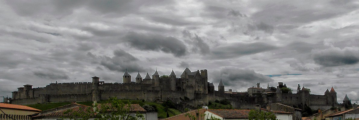 Крепость Каркассон, Франция