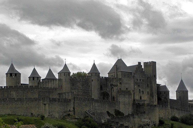 Замок Каркассон, Франция