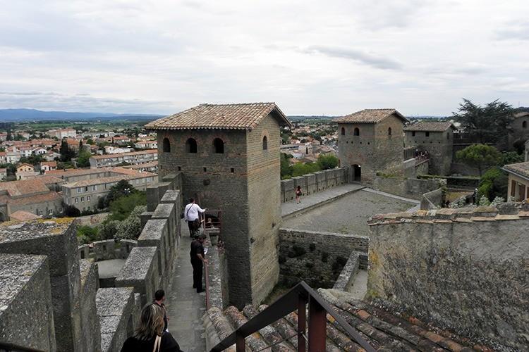 Крепость Каркасон, Франция