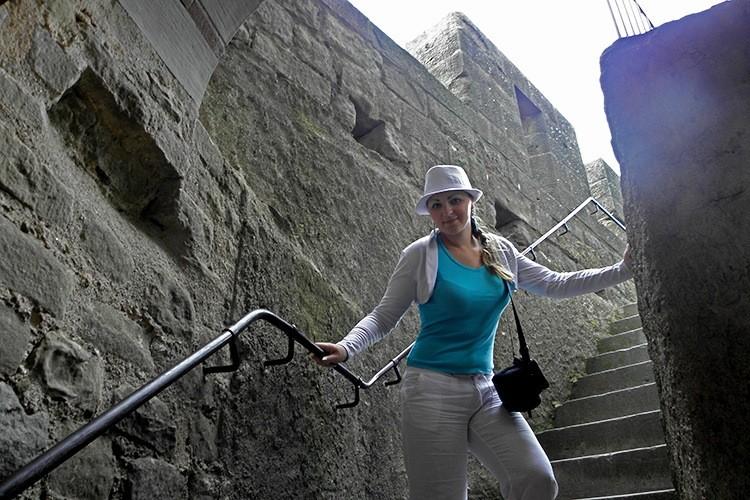 Крепостные стены Каркассона