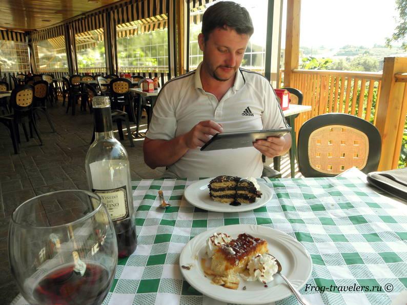 Десерты в Испании
