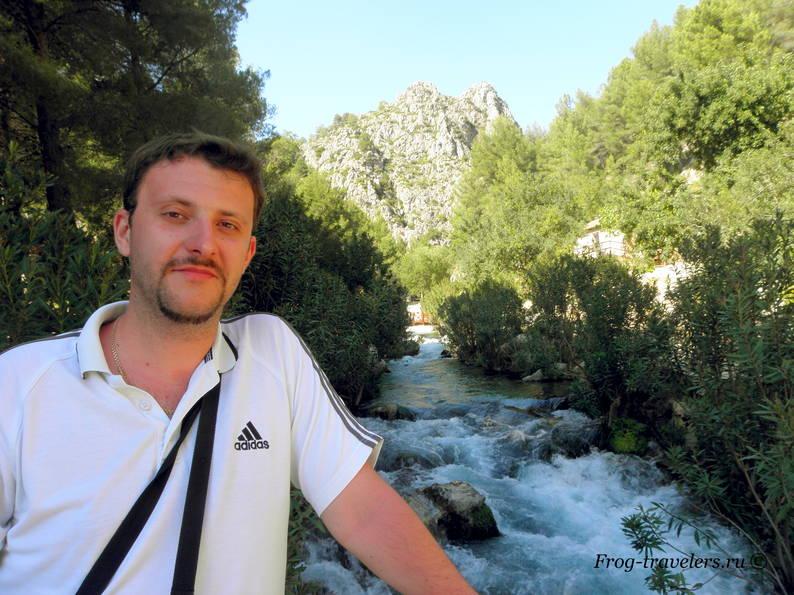 Водопады и источники Альгара на фото