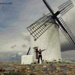 Ветряные мельницы провинции Кастилия Ла-Манча в Испании – те самые, с которыми боролся Дон-Кихот. Фото