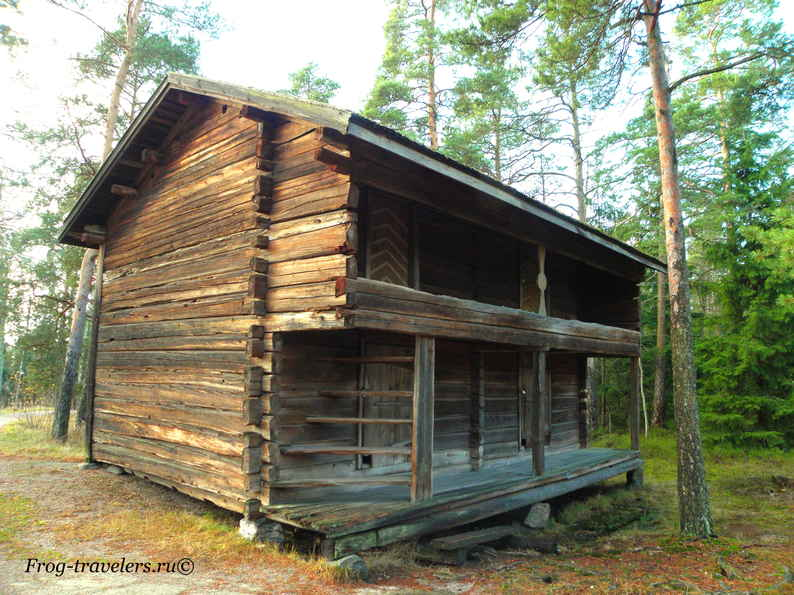 Остров Сеурасаари – музей финского зодчества под открытым небом в Хельсинки фото