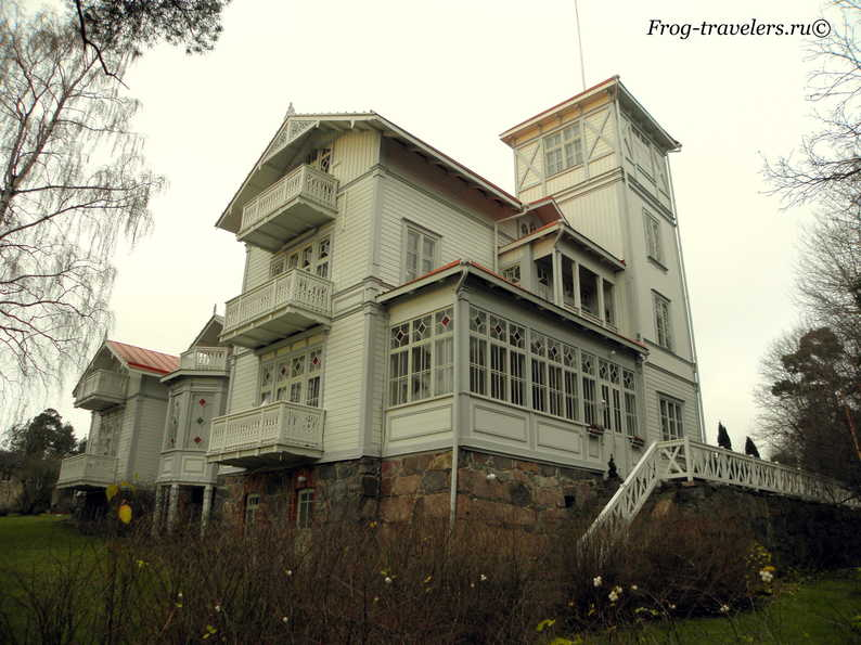 Финские дома в Хельсинки фото