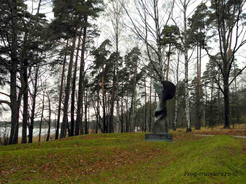 Скульптуры в парках Хельсинки