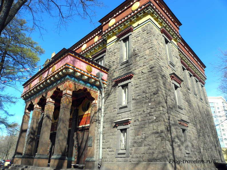 Дацан «Гунзэчойнэй» – буддийский храм в Санкт-Петербурге | Фото + Видео