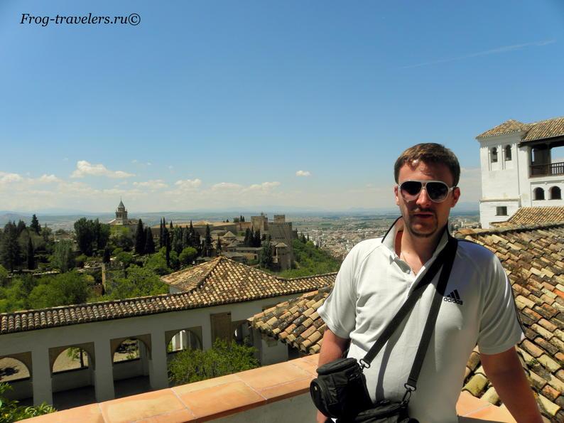 Дворец Альгамбра Испания Гранада фото