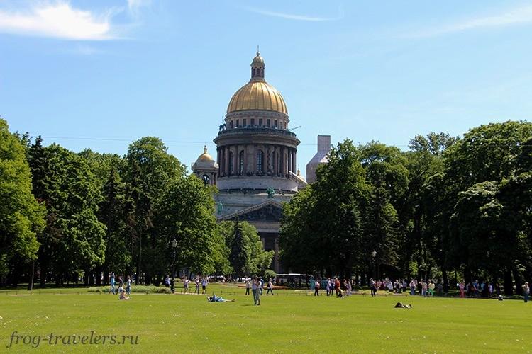 Исакиевский собор из рускеальского мрамора
