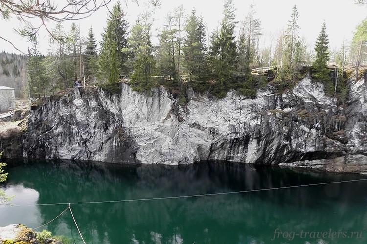 Мраморный каньон Рускеала весной