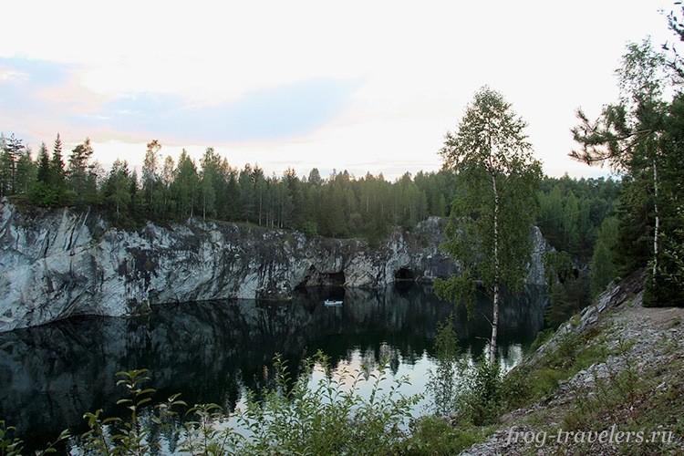 Горный парк Рускеала летом