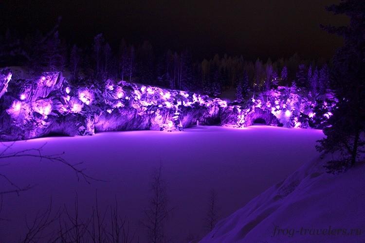 Зима в Рускеале