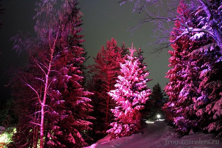 Зимние тропы в Рускеале
