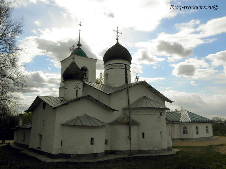 Церковь Николы Чудотворца на острове