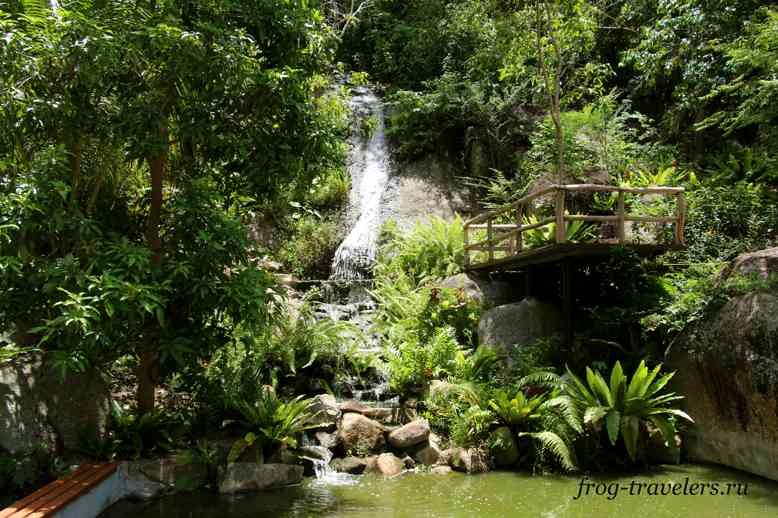 Водопад Sivatara Waterfall