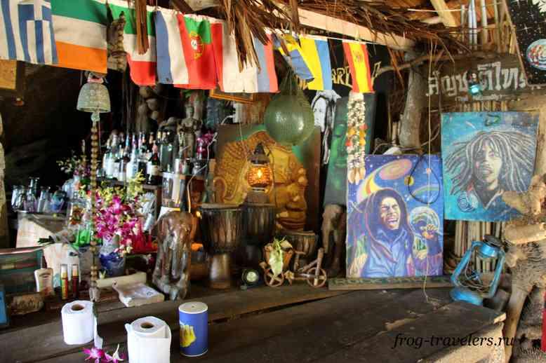 Растаманское кафе на Самуи