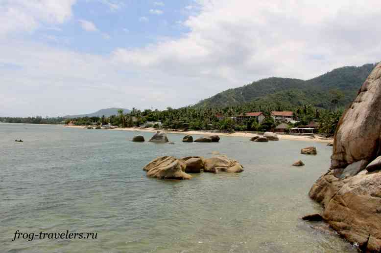 Пляж Rocky's Beach