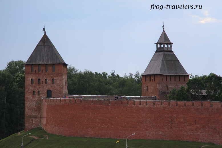 Новгородский Кремль - древняя крепость