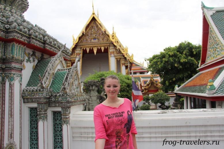 Марина Саморосенко в Бангкоке