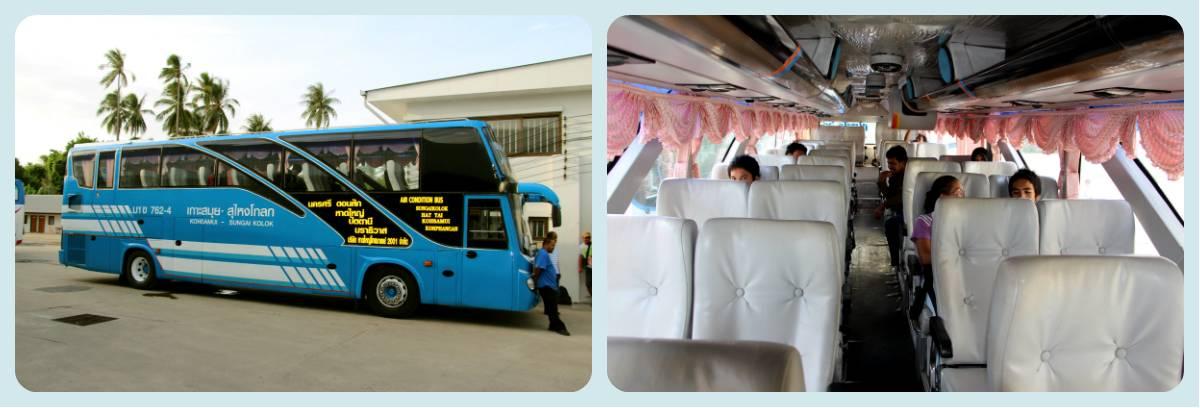 Автобус Самуи - Куала-Кумпур