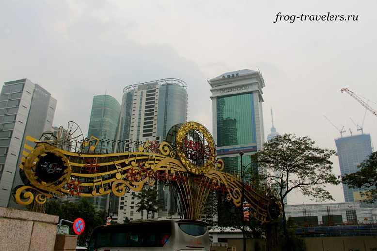 Небоскребы в Куала-Лумпур