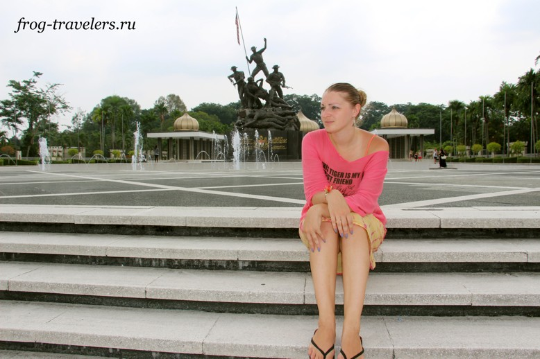 Марина Саоросенко в Куала-Лумпур
