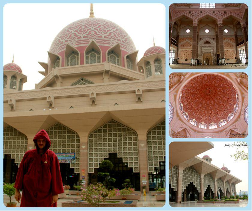 Мечеть Путра внутри