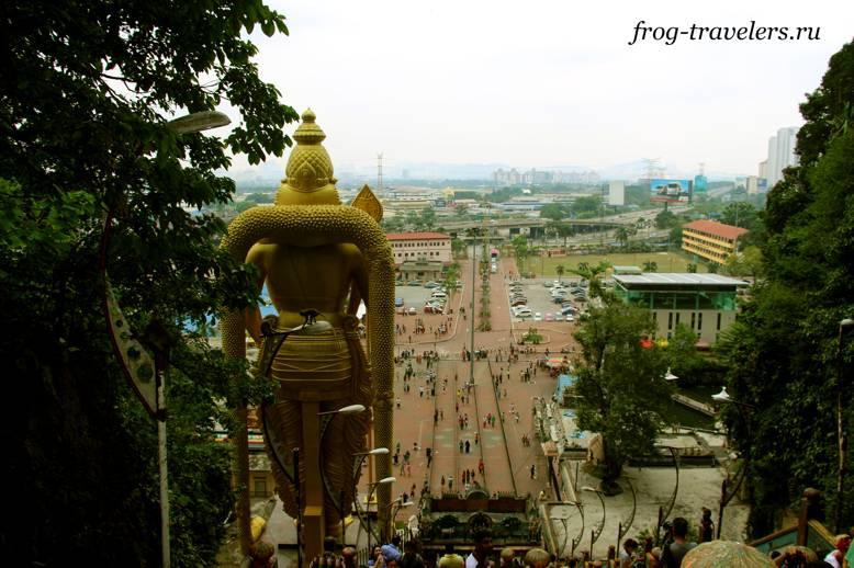 Вид на Куала-Лумпур